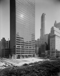 Seagram Building New York City - Mies van der Rohe   - photo by Ezra Stoller