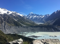 Sealy Tarns Track Mount Cook National Park New Zealand