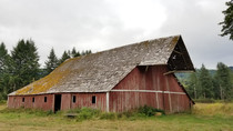 Seaside Oregon Old Barn