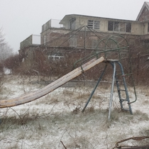 Seaside Sanatorium snow and booze smells not transmittable via photos Waterford CT -album in comments