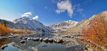 Season transitions at Convict Lake