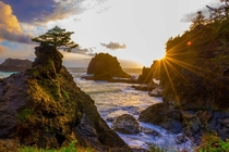 Seastacks in Brookings Oregon