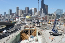 Seattle and its new tunnel portal