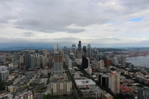 Seattle as seen from the Space Needle