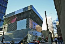 Seattle Central Library -- th and Madison Seattle Washington -- KoolhaasPrince-Ramus
