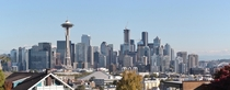 Seattle from a slightly different angle