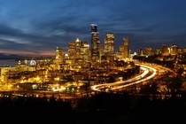 Seattle from Beacon Hill