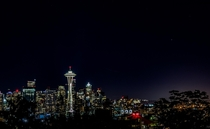 Seattle from Kerry Park last night around pm