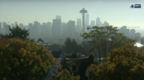 Seattle from todays Seahawks broadcast on CBS