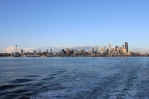 Seattle Skyline via Ferry