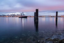 Seattle Sunrise from Alki Beach Last Month