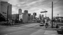 Seattle WA Shot from the intersection of Melrose amp Denny -