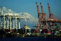 Seattles industrial port