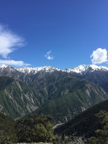 Seaward Ranges Kaikoura NZ