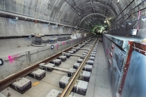 Second Avenue subway tracks at th Street