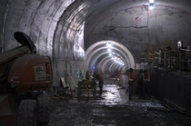 Second Avenue Subway Under Construction - New York -