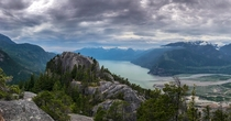 Second Peak of Stawamus Chief BC