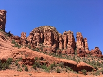 Sedona Arizona You guys complained the last time that there were no red rocks