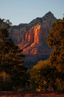 Sedona AZ sunset this past weekend
