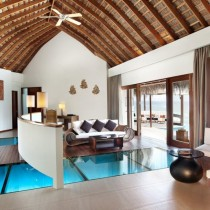 See-through floors at the W Retreat and Spa Maldives