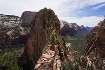 Seeing as everyone is sharing photos of Angels Landing - Zion National Park UT