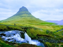 Seeing the mountain was as lovely as it appeared Kirkjufell Iceland