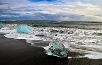 Seen on the beach near Jkulsrln Glacier Lagoon Iceland