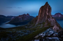 Segla Mountain on Senja Island Norway