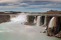 Selfoss waterfall in Vatnajokull National Park Northeast Iceland  photo by Tomas Sereda