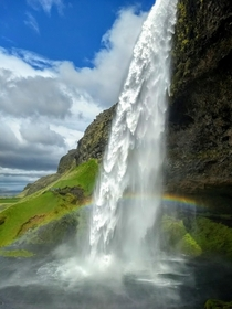 Seljalandsfoss Waterfall Icelands south coast