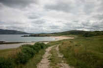 Semi-private beach in Donegal Ireland