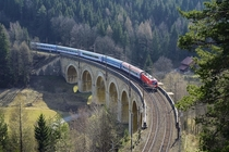 Semmering railway Austria built in - soon to be replaced with the  km Semmering Base Tunnel