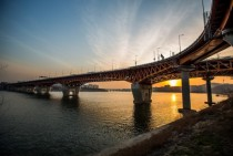 Seongsudaegyo Bridge Seoul Korea