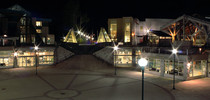 September Night at The University of Northern British Columbia in Prince George