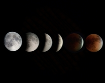 September Total Lunar Eclipse Sequence