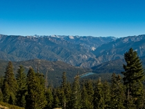 Sequoia National Park in the morning