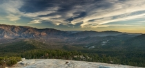 Sequoia National Park - view from Dome Rock
