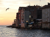 Serene evening in Rovinj Croatia