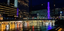 Sergels Torg Stockholm at night