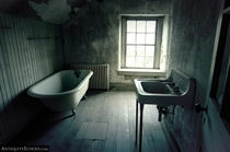 Servants Bath in Abandoned Mansion