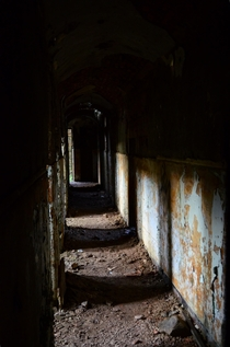 Servants passageway - Abandoned Country House - Scotland
