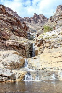 Seven falls I would love to see this after a monsoon A fun hike in the Catalina Mountains that leads to this beautiful oasis
