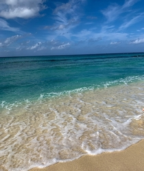 Seven Mile Beach in the Grand Cayman
