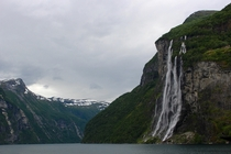 Seven Sisters Geiranger Norway