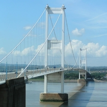 Severn Bridge- Connects England and Wales Built in  tolls abolished in