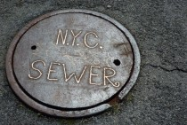 Sewer cover NYC