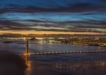 SF at Blue Hour