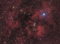 Sh- Emission Nebula in Cygnus