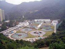 Sha Tin Water Treatment Works in Tai Wai