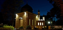 Shah Jahan Mosque Night View -